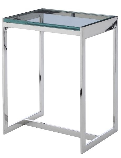 RV Astley Radcot Side Table in Stainless Steel