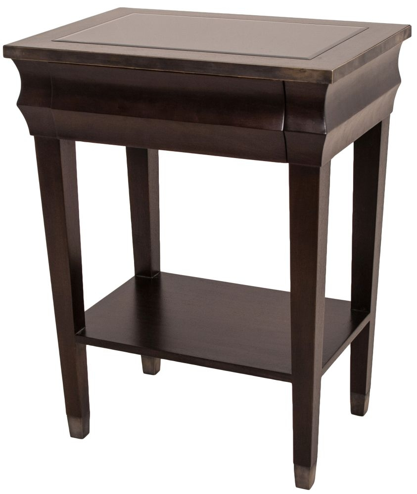 RV Astley Treves Walnut Side Table