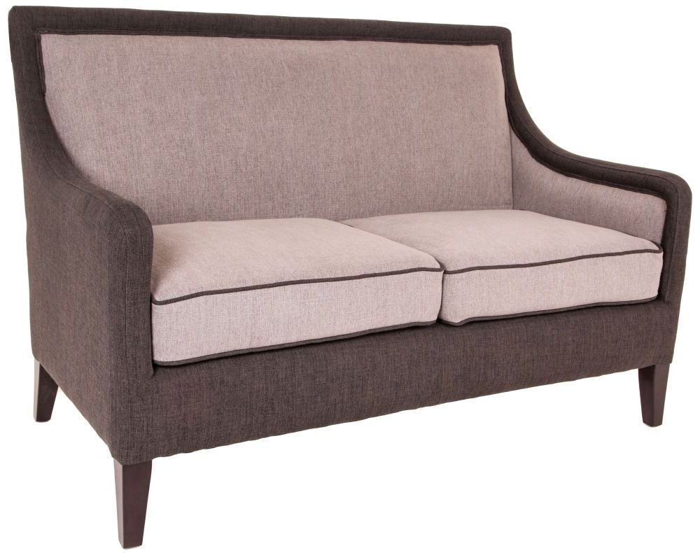 RV Astley Iden Greys Sofa - 2 Seater