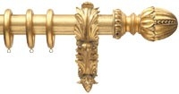 RV Astley 5 Cm 2inc Gold Curtain pole