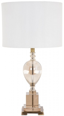 RV Astley Devana Tea Glass Table Lamp