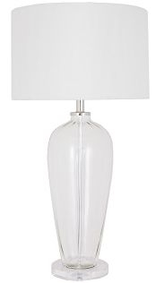 RV Astley Abriana Glass Table Lamp