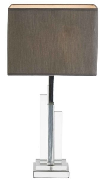 RV Astley Agata Metal and Crystal Table Lamp