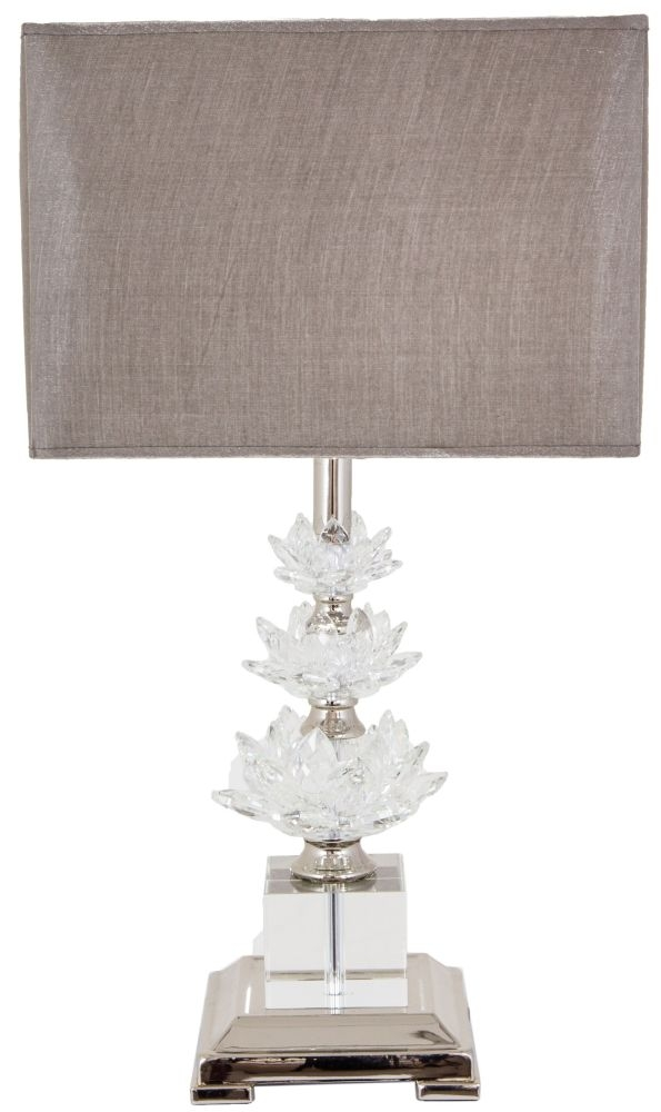 RV Astley Crystal Table Lamp