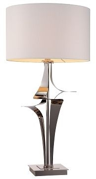 RV Astley Gian Nickel Table Lamp