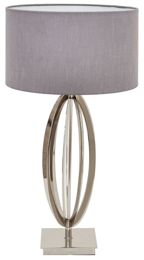 RV Astley Olive Nickel Table Lamp