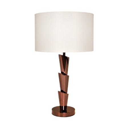 RV Astley Terry Chocolate Chrome Lamp
