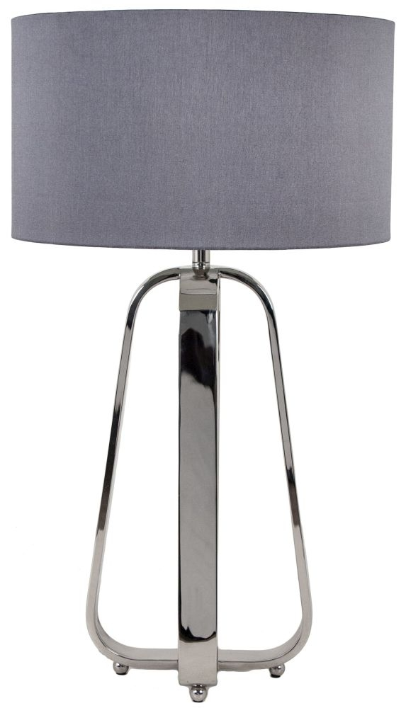RV Astley Victoria Nickel Table Lamp
