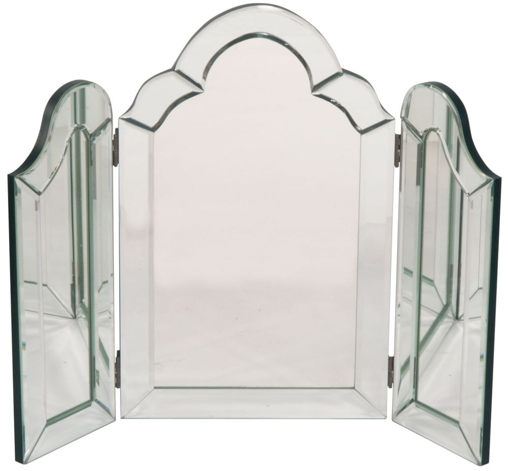 RV Astley Curved Triple Mirror