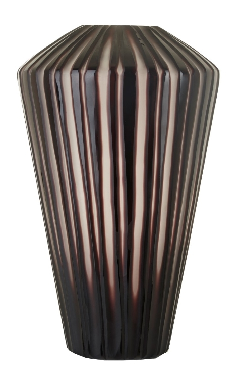 RV Astley Camila Grey Stripe Vase