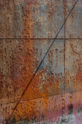 RV Astley Rust On A Ship Printed Image