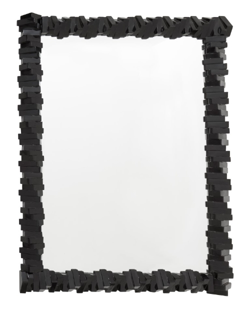 RV Astley Almera Semi Black Wall Mirror