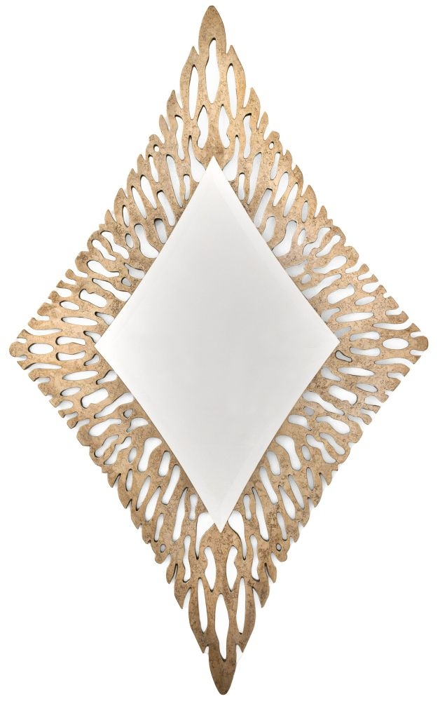 RV Astley Bronze Diamond Mirror