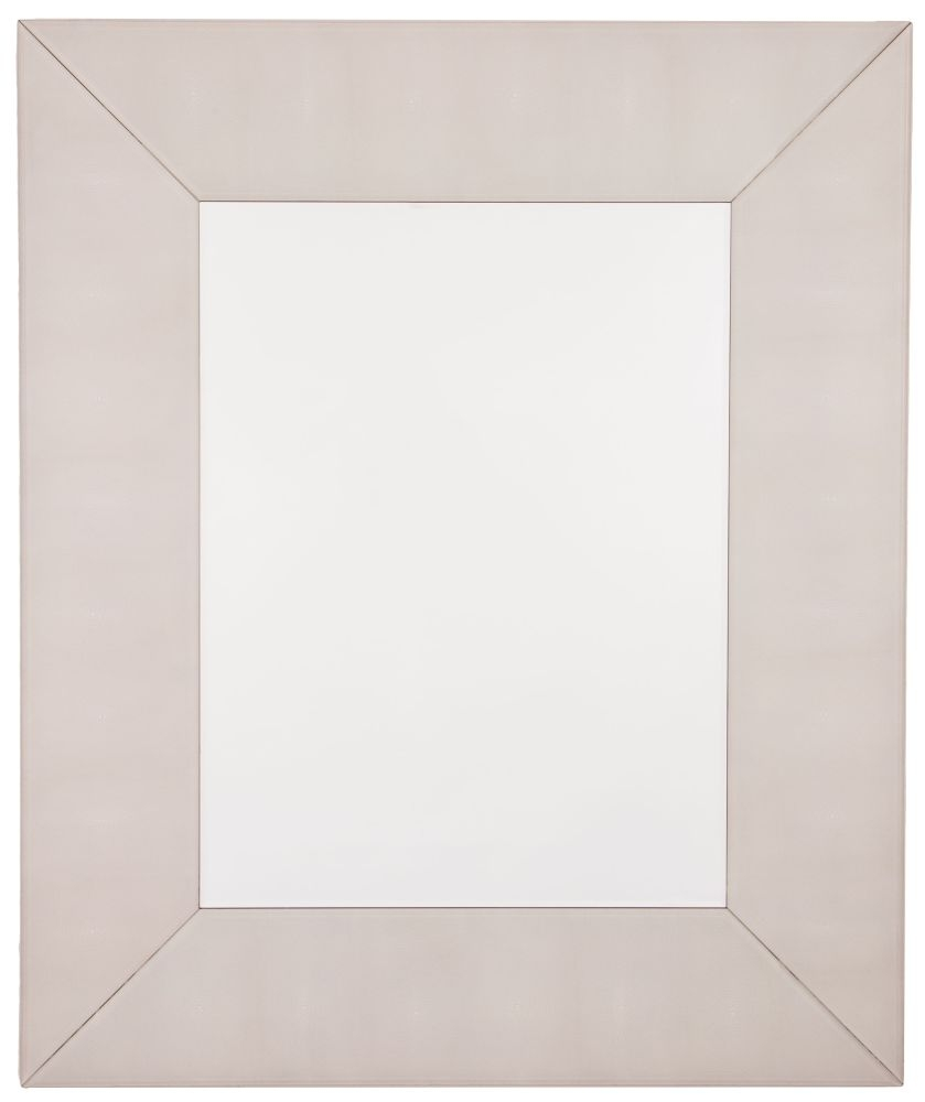 RV Astley Iced Ivory Shargreen Wall Mirror