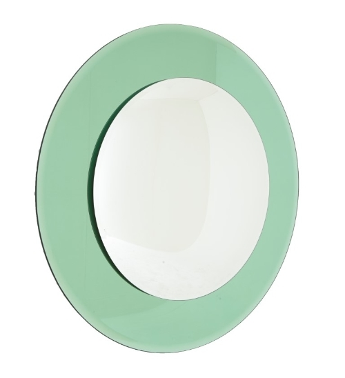 RV Astley Lunna Convex Mirror (Green)