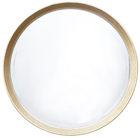Rv Astley Lana Light Antique Brass Round Mirror