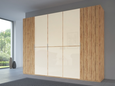 Rauch 20UP Front 1A Wardrobe with Matt Glass Front