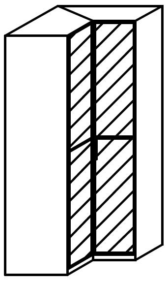 Rauch 20UP Front 1A Corner Wardrobe