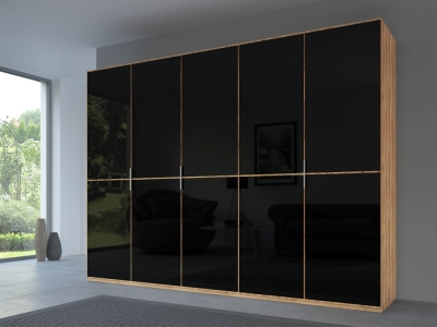 Rauch 20UP Front 2A Wardrobe with Glossy Glass Front