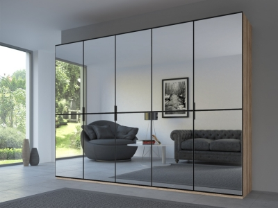 Rauch 20UP Front 2A Wardrobe with Mirror Front