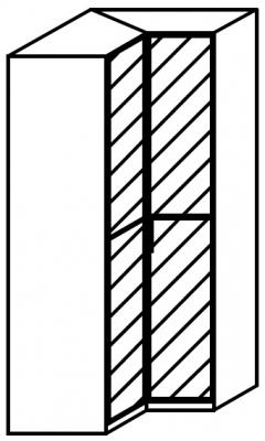 Rauch 20UP Front 2A Corner Wardrobe