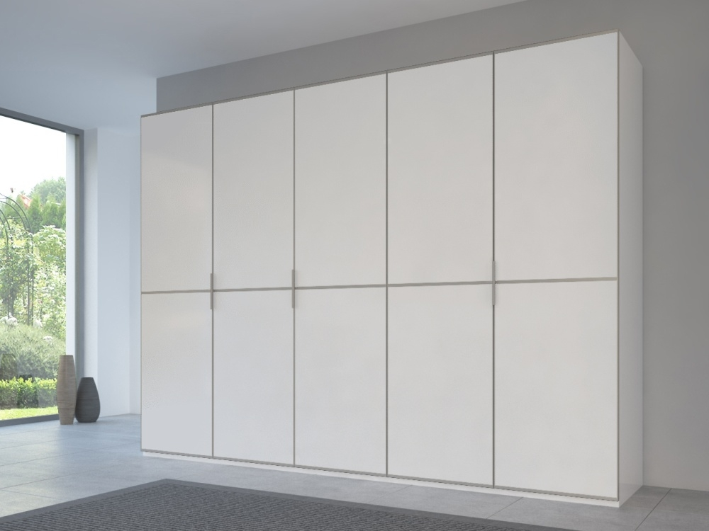 Rauch 20UP Front 2A Wardrobe with Matt White Front