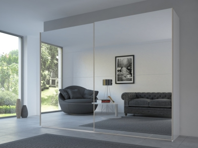 Rauch 20UP Front 3A Sliding Wardrobe with Mirror Front