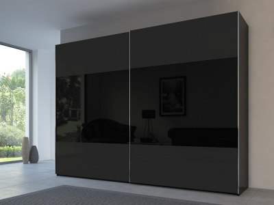 Rauch 20UP Front 3A Sliding Wardrobe with Mixed Matt Glass Front