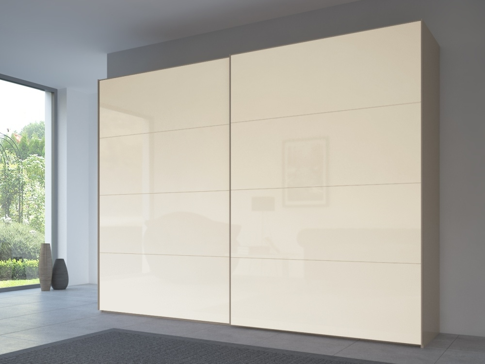 Rauch 20UP Front 3A Sliding Wardrobe with Matt Glass Front
