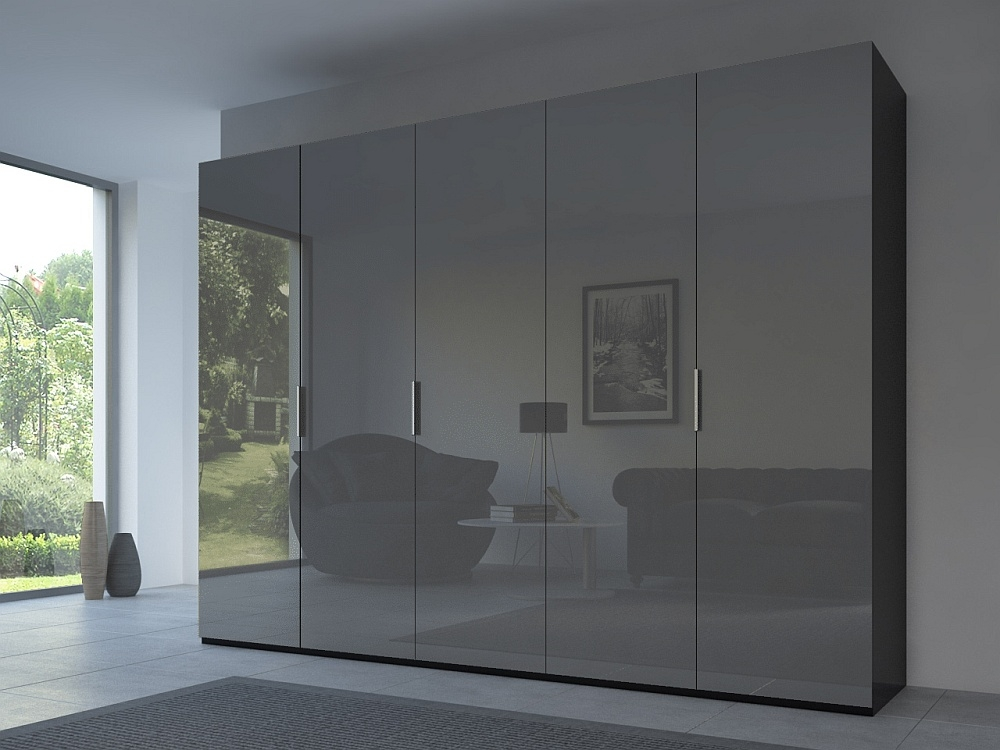 Rauch 20UP Front 3A Wardrobe with Glossy Glass Front