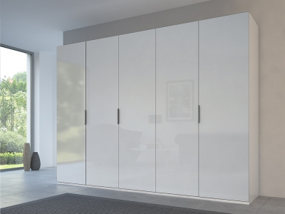 Rauch 20UP Front 3B Wardrobe with Mixed Matt Glass Front