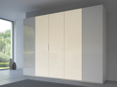 Rauch 20UP Front 6A Wardrobe with Matt Glass Front