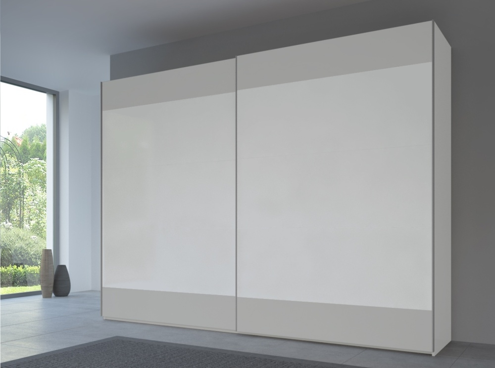 Rauch 20UP Front 6A Sliding Wardrobe with Matt Front