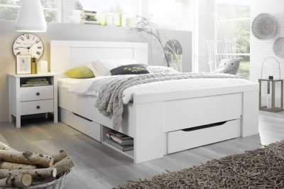 Rauch Agnetha White Bed