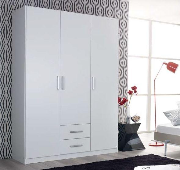 Rauch Albero Alpine White 2 Door Wardrobe - W 91cm