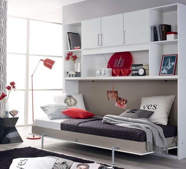 Rauch Albero Cross Folidng Bed in Alpine White