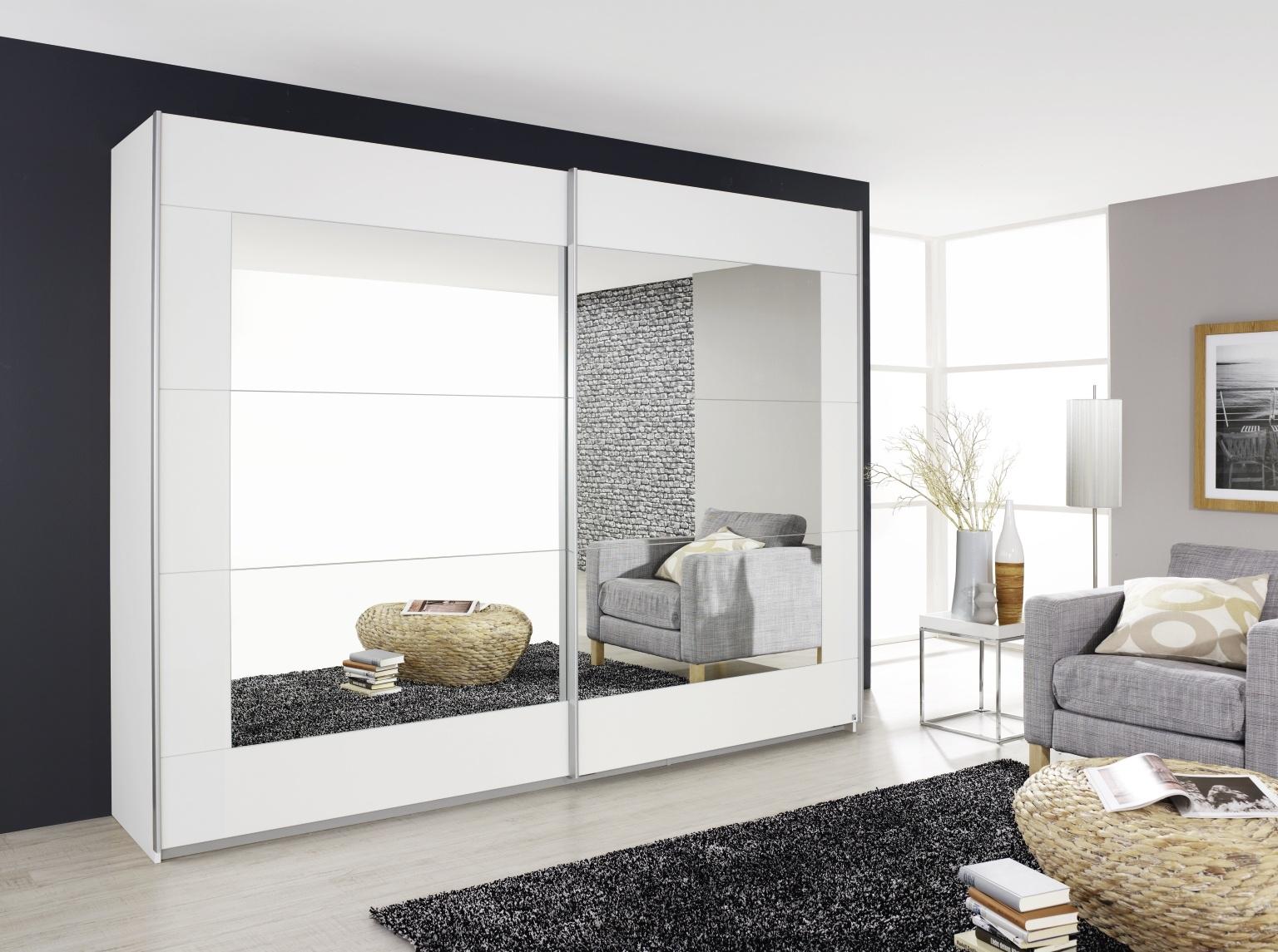 Rauch Alegro 2 Door Sliding Wardrobe in White - W 226cm