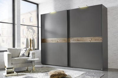 Rauch Bayamo Sliding Wardrobe with Color Front