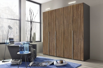 Rauch Bayamo Wardrobe with Color Front