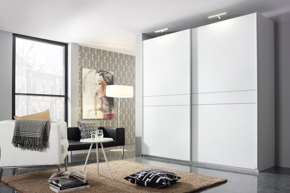 Rauch Bayamo Sliding Wardrobe with Matt Glass Front
