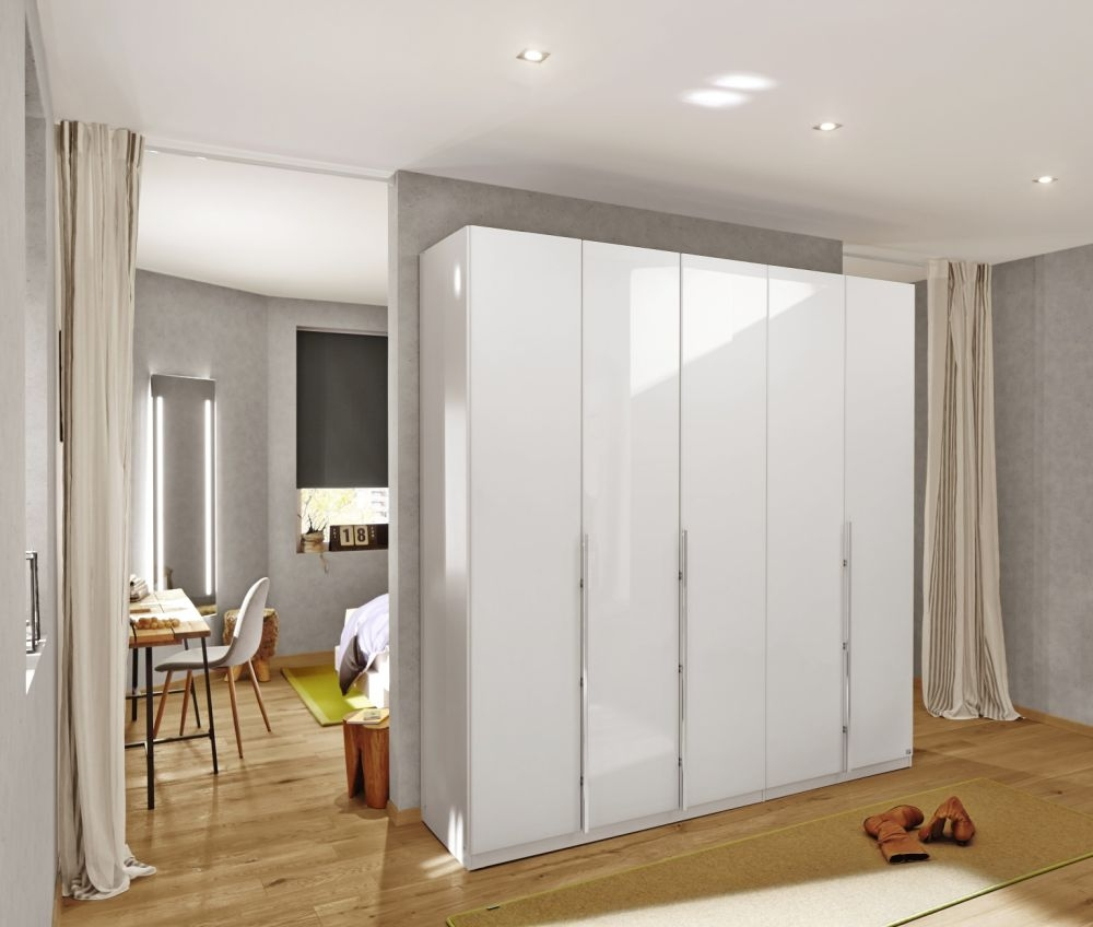 Rauch Bayamo Wardrobe with Matt Glass