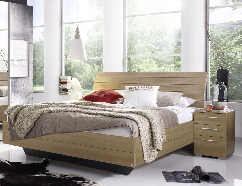 Rauch Braya 4ft 6in Double Bed in Oak - 140cm x 190cm