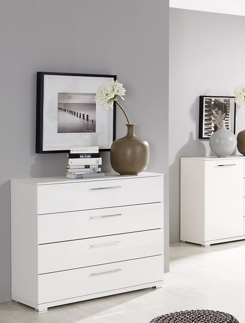 Rauch Chest 2 Door Cupboard in White