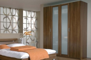 Rauch Elan A Hinged Door Wardrobe - Glass Framed Doors with Starter Units and Extension Units
