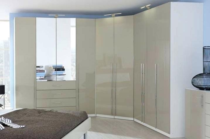 Rauch Elan C Folding Wardrobe with Mirror - Panorama Appearance Starter Unit