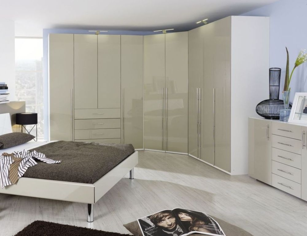 Rauch Elan C Wardrobe with High Polish Front - Starter Unit and Extension Unit