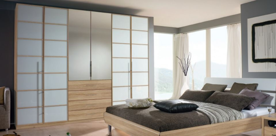 Rauch Elan E Folding and Hinged Door Wardrobe - Panorama Appearance and Starter Units