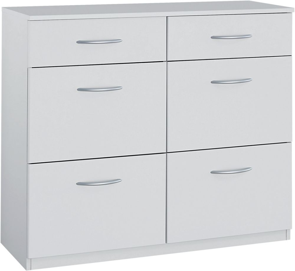 Rauch Gotthard 5 Drawer Chest in Alpine White