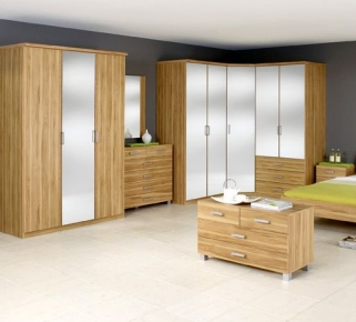 Rauch Harvard Folding Door Wardrobe