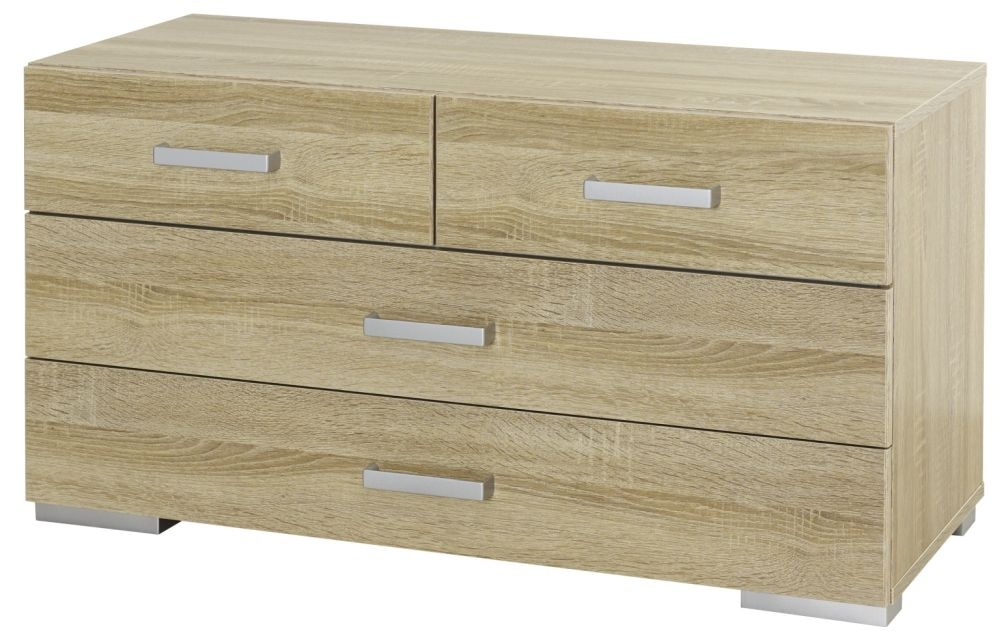 Rauch Harvard 2+2 Drawer Chest in Oak